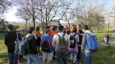 Cross border school meeting in Muggia (Milje) 6th April 2018